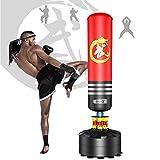 Dripex Boxsack Erwachsene Freistehender Standboxsack MMA Boxpartner Boxing Trainer Heavy...