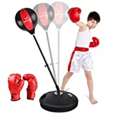 Mdikawe Punchingball Boxstand, 90-120cm Höhenverstellbarer Standbox Trainer Standboxsack...