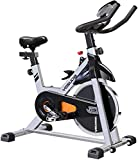 YOSUDA Indoor Cycling Bike stationär-Spin Bike - zyklus-Fahrrad mit ipad Mount & Bequeme...