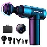 MILcea Massagepistole, Massagegerät mit 5 Geschwindigkeiten, LED-Anzeige-Touchscreen...