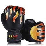 Luniquz Kinder Boxhandschuhe, Box-Handschuhe für Kinder von 3-16 Jahre Training Gloves...