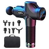 ABOX Massagepistole für Nacken Schulter Rücken Massage Gun Massagegerät Elektrisch...