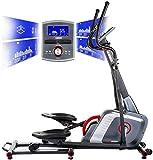 HAMMER Ellipsentrainer Speed-Motion BT, leises Trainingsgerät mit Bluetooth &...