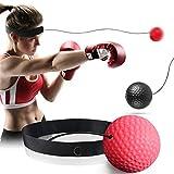 GothicBride Boxing Reflex Ball Set– Punchingball und Reaktionsball für Ihr Boxtraining...
