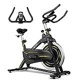ONETWOFIT Heimtrainer,Fitnessfahrrad,Cardio Spinning Bike mit verstellbarem Lenker und...