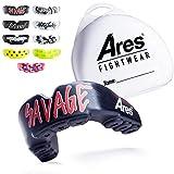 Ares Fightwear® Mundschutz Boxen inkl. Aufbewahrungsbox für Kampfsport, MMA & Athleten I...