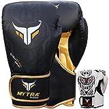 Mytra Fusion Boxhandschuhe 10oz 12oz 14oz 16oz Boxhandschuhe für das Training Punching...