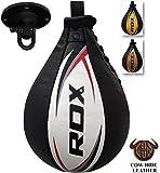 RDX Geschwindigkeitsball Leder Boxen Drehkugellagerung Stanzen Dodge Boxbirne Set...