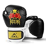 SKL Boxhandschuhe Kinder Boxing Gloves Kids Punchinghandschuhe aus PU Training Muay Thai...