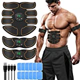 SUNGYIN EMS Muskelstimulator bauchtrainer ABS Trainingsgerät Professionelle USB...