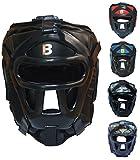 BOUT3® Boxen Kopfschutz Helm für Kampfsport Muay Thai Kickboxen Sparring Muay Thai Boxen...