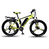 Elektrische Fahrräder Für Erwachsene, Herren-Mountainbike, Magnesium-Legierung Ebikes...